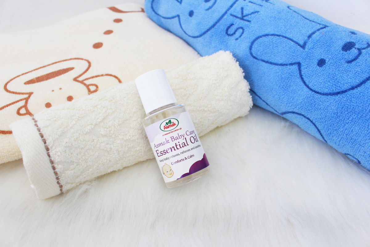 asmak baby care essential oil