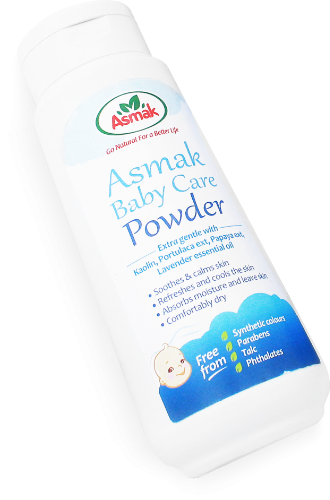 asmak baby care powder